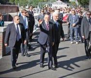 Giorgio Napolitano, Präsident der italienischen Republik Lizenzfreie Stockfotos