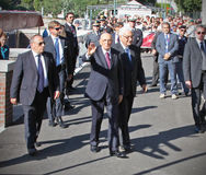 Giorgio Napolitano, presidente da república italiana Fotos de Stock Royalty Free