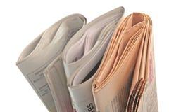 Giornale fotografia stock
