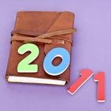 Giornale 2011 Immagine Stock