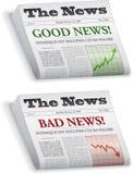 Giornale illustrazione di stock
