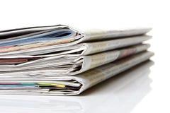 Giornale, giornale Immagini Stock