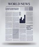 Giornale interattivo Illustrazione di Stock