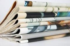 Giornali Fotografia Stock