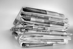 giornali Fotografie Stock Libere da Diritti