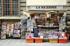 Giornali in Italia Fotografie Stock Libere da Diritti