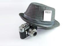 Giornalista Fotografie Stock