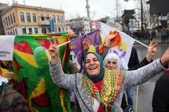 Giornata internazionale della donna Fotografie Stock Libere da Diritti