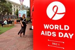 Giornata mondiale contro l'AIDS Fotografia Stock Libera da Diritti