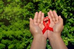 Giornata mondiale contro l'AIDS Immagini Stock
