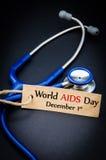 Giornata mondiale contro l'AIDS 1° dicembre Fotografia Stock