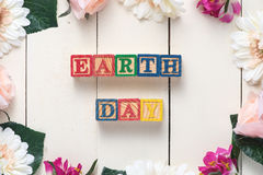 Giornata per la Terra 22 aprile Immagine Stock Libera da Diritti