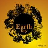 Giornata per la Terra felice Fotografia Stock