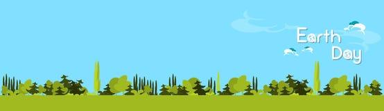 Giornata per la Terra Forest Tree Nature Landscape verde Fotografia Stock
