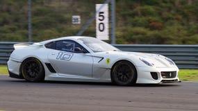 Giorni di corsa di Ferrari Immagine Stock