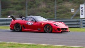 Giorni di corsa di Ferrari Immagine Stock Libera da Diritti