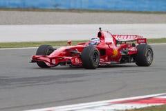 Giorni di corsa di Ferrari Fotografia Stock