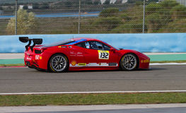 Giorni di corsa di Ferrari Fotografie Stock Libere da Diritti