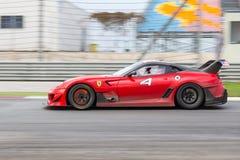 Giorni di corsa di Ferrari Fotografia Stock Libera da Diritti