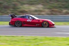 Giorni di corsa di Ferrari Immagini Stock Libere da Diritti