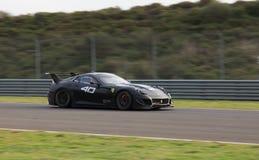 Giorni di corsa di Ferrari Immagini Stock