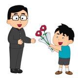 Giorni di padre illustrazione vettoriale