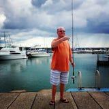 Giorni di pesca Fotografia Stock Libera da Diritti