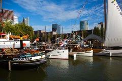 Giorni Rotterdam 2018 del porto del mondo fotografie stock libere da diritti