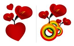 Giorno 04 del biglietto di S. Valentino Fotografia Stock