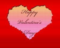 Giorno 2 del biglietto di S. Valentino Fotografie Stock Libere da Diritti