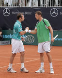 Giorno 2, tazza 2012 della squadra del mondo del cavallo di potenza di tennis Immagine Stock Libera da Diritti