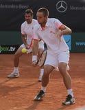 Giorno 2, tazza 2012 della squadra del mondo del cavallo di potenza di tennis Immagini Stock Libere da Diritti