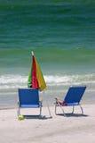 Giorno alla spiaggia fotografie stock libere da diritti