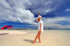 Giorno allegro in Okinawa Fotografia Stock