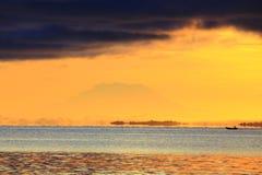 Giorno arancio Fotografia Stock