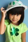 Giorno asiatico della st Patricks fotografia stock