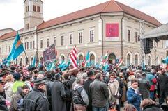 Giorno degli ungheresi Fotografia Stock