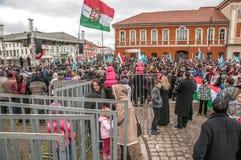 Giorno degli ungheresi Immagini Stock