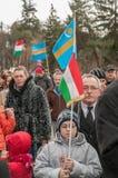 Giorno degli ungheresi Fotografie Stock Libere da Diritti