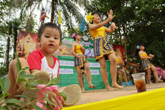 Giorno dei bambini nazionali della Tailandia Immagine Stock Libera da Diritti