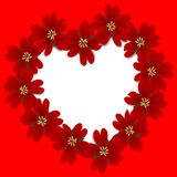 Giorno dei biglietti di S. Valentino Fotografia Stock Libera da Diritti