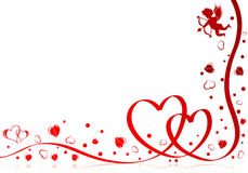 Giorno dei biglietti di S. Valentino royalty illustrazione gratis