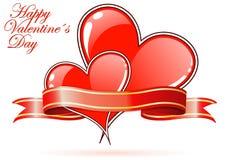 Giorno dei biglietti di S. Valentino illustrazione di stock