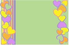 Giorno dei biglietti di S. Valentino Fotografie Stock Libere da Diritti