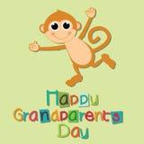 Giorno dei nonni Fotografie Stock Libere da Diritti