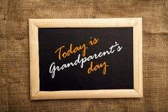 Giorno dei nonni fotografia stock
