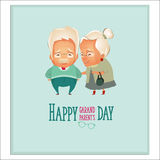 Giorno dei nonni Coppie dei nonni Immagini Stock
