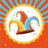 Giorno dei pesci d'aprile illustrazione di stock
