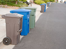 Giorno dei rifiuti fotografia stock