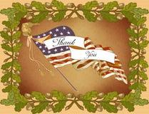 Giorno dei Scheda-Veterani di saluto Fotografia Stock Libera da Diritti